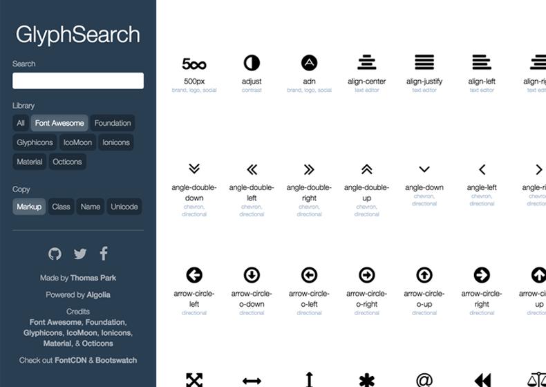 GlyphSearch
