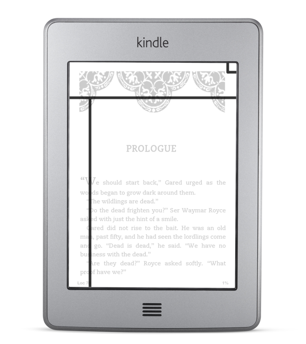Kindle Touch Gestures | Thomas Park